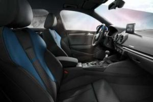 Sièges avant de la nouvelle Audi A3