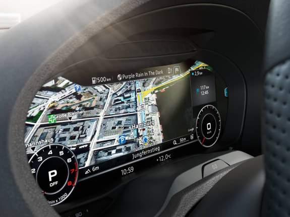 Virtual cockpit Audi A3