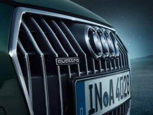 Calandre de bord Audi A4