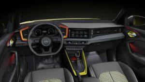 éclairage led de l'intérieur de l'Audi A1