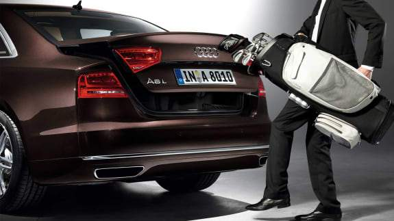 Audi A8 coffre
