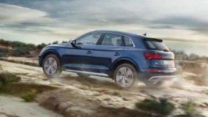 Audi Q5 en tout terrain