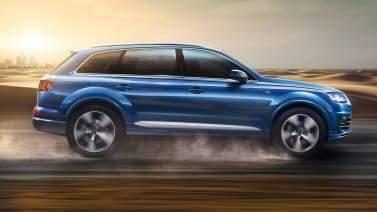 Audi Q7 dans le sable