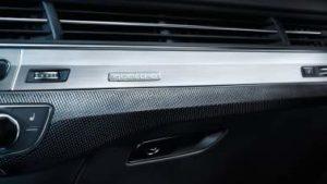 Audi SQ7 tableau de bord