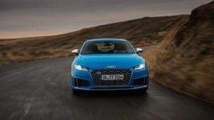 Audi TT bleu