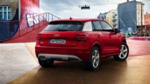 Audi Q2 rouge