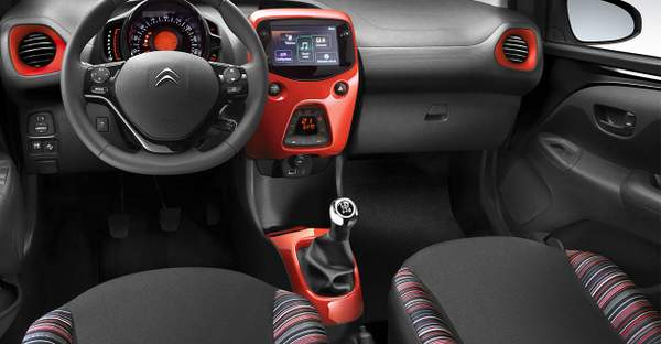 design intérieur Citroen c1