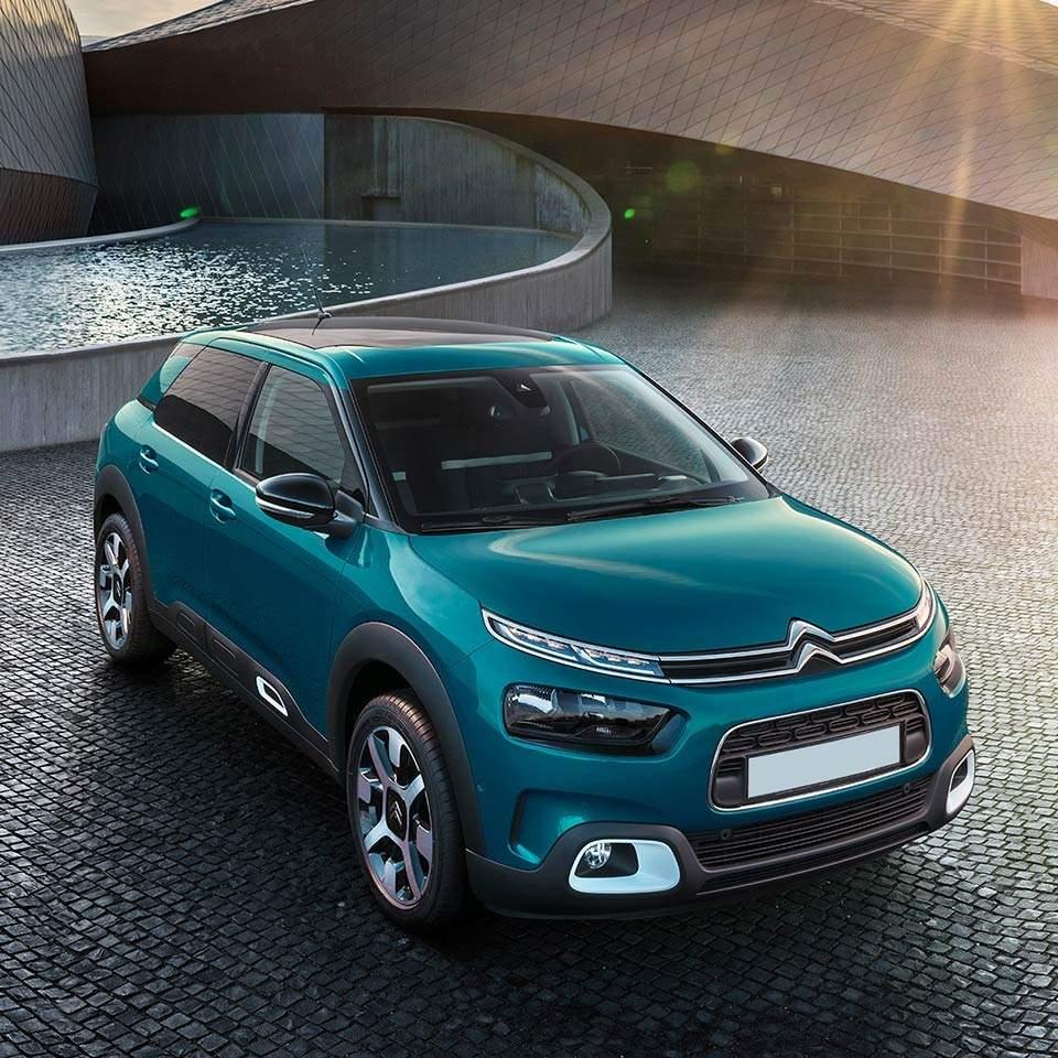 Façade avant Citroën C4 Cactus