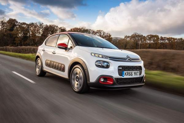 Citroën C3 blanche