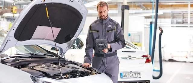 Entretien Opel entreprise