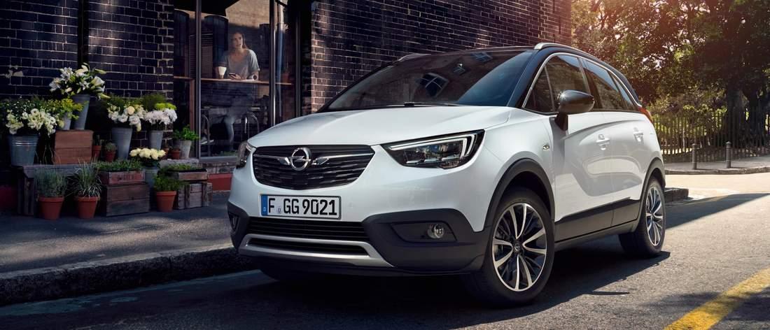 Opel Crossland X occasion
