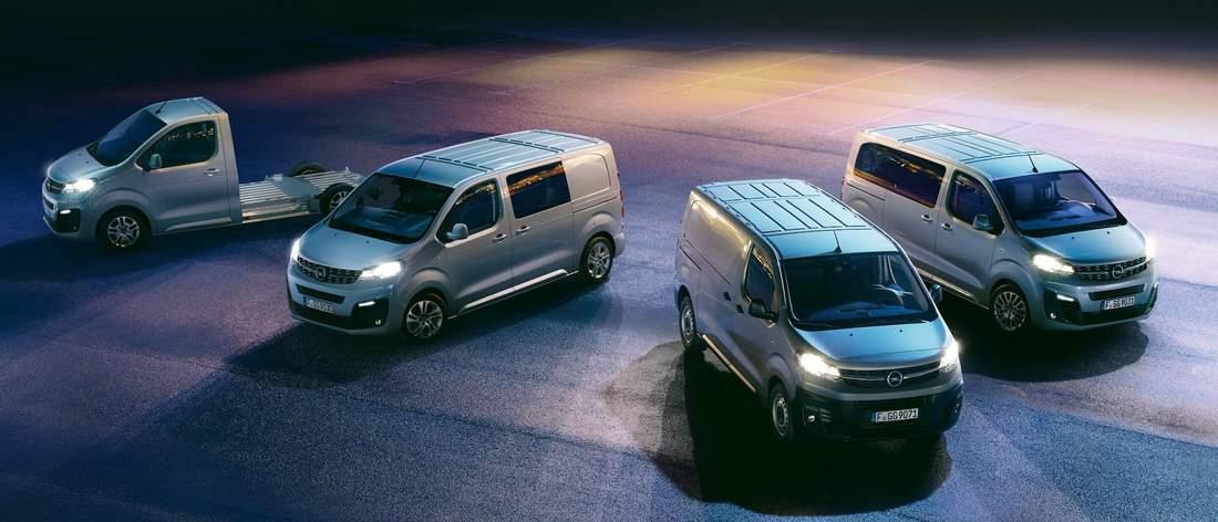 utilitaires Opel