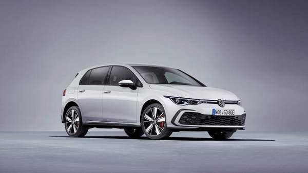 Volkswagen Golf GTE - vue 3/4 avant