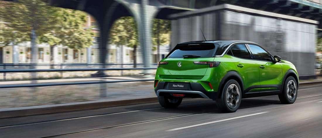 SUV 100% électrique Opel Mokka-e