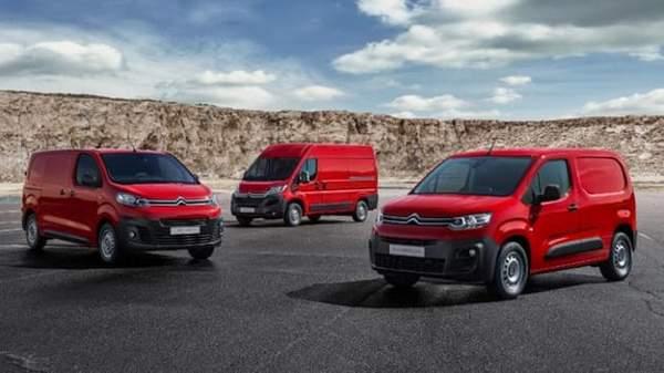 gamme Citroën utilitaire